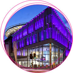 EICC at night