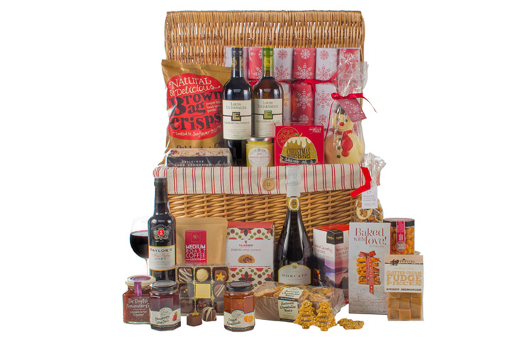 Luxurious festive hamper