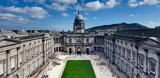 Big records for the University of Edinburgh