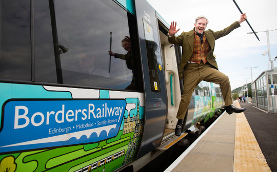 Borders Railway opened