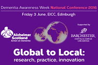 Alzheimer Scotland's Annual Conference